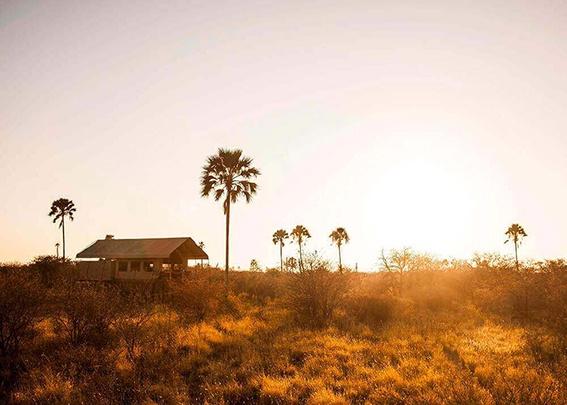Tent at Camp Kalahari