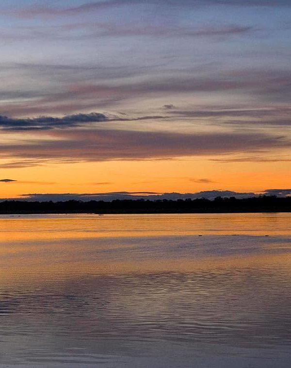 Lower Zambezi at sunset