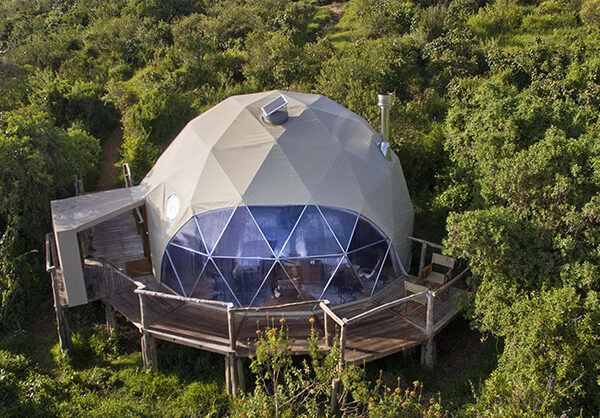 Dome rooms at the Highlands
